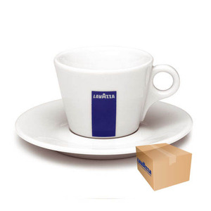Lavazza Cappuccino Cup with Saucer